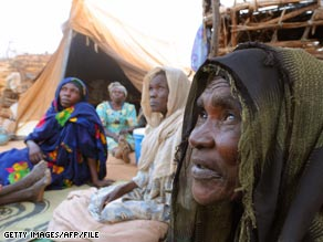 The U.N. estimates 2.5 million have been forced from their homes in Darfur.