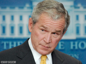 President Bush said Tuesday that the United States is looking at ways to keep the heat on Zimbabwe.