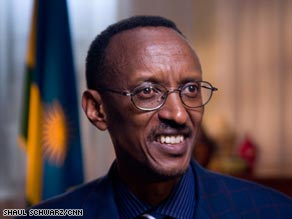 "Paul Kagame: ""We say every Rwandan has the same opportunity to life ... as the other."""