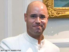 Saif al Islam Gadhafi has been credited with convincing his father to compensate victims of a 1988 bombing.