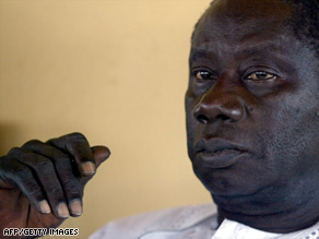 Lansana Conte came to power in a military coup in 1984.