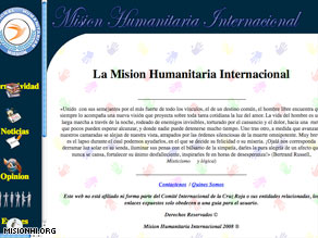 A Web site for a fake humanitarian group appeared shortly before the rescue of 15 hostages in Colombia.
