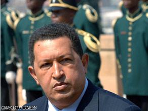 Venezuela's President Hugo Chavez