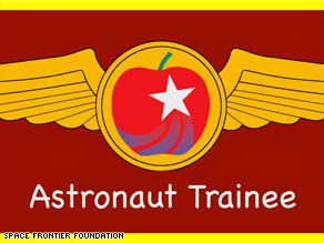 The Space Frontier Foundation hopes eventually to send 200 astronaut teachers into space every year.