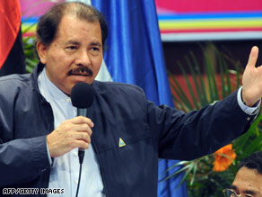 Opponents of Nicaraguan President Daniel Ortega's Sandinista party have raised election fraud allegations.