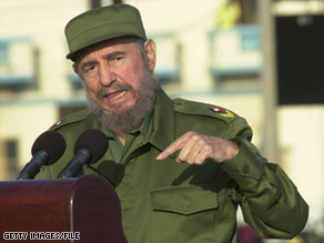 Former Cuban President Fidel Castro has largely been out of the political scene since falling ill in 2006.