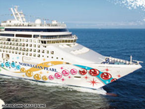 The Norwegian Pearl is on a seven-day Caribbean cruise.
