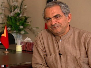 Dr. Jose Ramos-Horta, president of East Timor