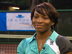 World tennis champion Venus Williams