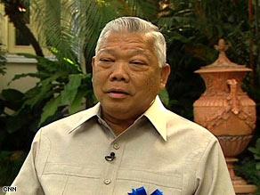 Thai Prime Minister Samak Sundaravej