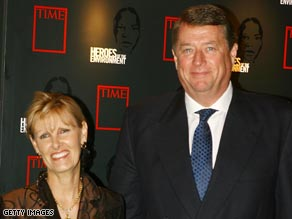 Last year, former Principal Voice Rory Stear and his wife Kristine Pearson were named TIME 'Heroes of the Environment.'