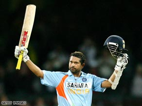 One the game's greats, Sachin Tendulkar is more than just a player in India, he's an icon.