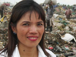 Children are a large source of labor at Phnom Penh's largest municipal trash dump.