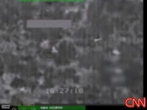 Footage from unmanned U.S. drone