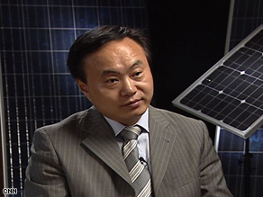 Shi estimates that the solar energy industry could be worth $50 billion by 2010.