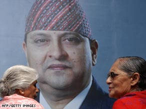 Nepal became a republic after the deposal of King Gyanendra Shah earlier this year.