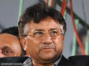 President Pervez Musharraf took control of Pakistan in a military coup in 1999.