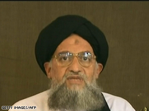 A $25 million reward has been offered for Ayman al-Zawahiri, al Qaeda's second-in-command.