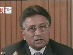 Pakistan's Pervez Musharraf has until now stubbornly resisted pressure to quit.