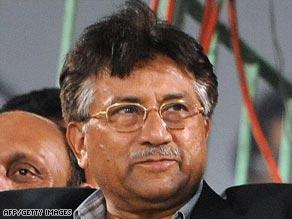 President Pervez Musharraf has until now stubbornly resisted pressure to resign.