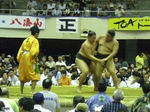 Fans in Japan expect humility and dignity from sumo wrestlers.