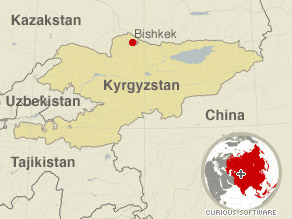 The Boeing 737 crashed near the Bishkek airport in Kyrgyzstan on Sunday.