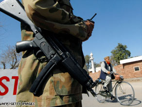 The North West Frontier Province is rife with Islamic extremists and has been the site of recent clashes.