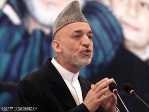 Afghan President Hamid Karzai fired military commanders after an airstrike killed civilians.