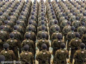 Japan's Ground Self-Defense Force was initially deployed in 2004 to help in reconstruction and left in 2006.