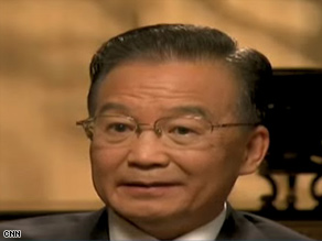 "Chinese Premier Wen Jiabao was interviewed by Fareed Zakaria on ""Fareed Zakaria GPS"" this weekend"