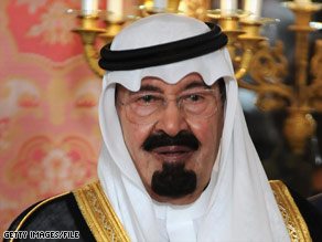 King Abdullah of Saudia Arabia hosted meetings between the Afghan government and the Taliban, a source says.