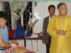 Chief Minister of Manipur Okram Ibobi Singh