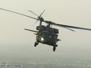 UH-60 helicopter