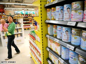 Over 53,000 infants in China were made ill after consuming infant formula containing melamine.