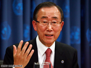 Through a spokesman, U.N. Secretary-General Ban Ki-moon said there is no justification for violence.