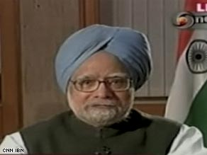 Indian Prime Minister Manmohan Singh said the attacks were intended to create a sense of panic.