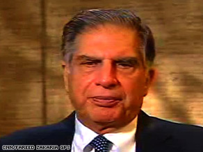 Tata Group Chairman Ratan Tata, whose company owns the Taj hotel, discusses this week's attacks in Mumbai.