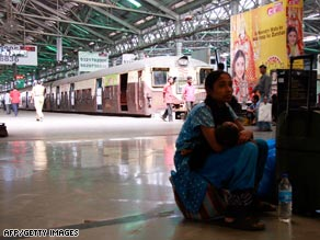 Gunmen entered the Victoria Terminus train station Wednesday and opened fire.