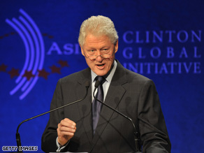 Bill Clinton's CGI in Hong Kong aimed to  turn good intentions into positive committments.