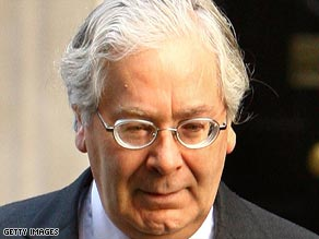 Bank of England Governor Mervyn King initially fought against interest rate cuts but now says they are necessary.