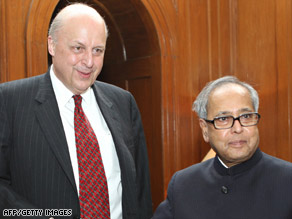 Negroponte meets Thursday in Islamabad with Pakistani Foreign Minister Shah Mehmood.