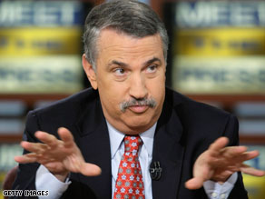 "Thomas L. Friedman has taken on a green hue with his latest book, ""Hot, Flat and Crowded""."