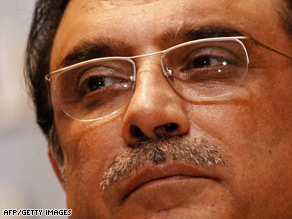 Pakistani President Asif Ali Zardari is making his first visit to Afghanistan.