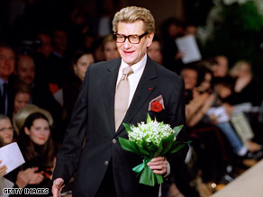 Legendary fashion designer Yves Saint Laurent died Sunday, a spokesman has said.