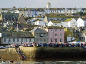 Falmouth in England is one of many towns across the world that have 'transition' initiatives.