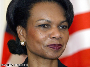 U.S. Secretary of State Condoleezza Rice was set to go to Poland to negotiate the missile system.