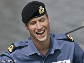 Prince William has helped bust a speed boat smuggling $80 million worth of cocaine.