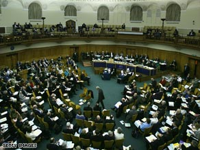 General view of the Synod Assembly Chamber during the General Synod Session.