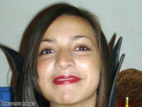 Briton Meredith Kercher was found dead in her Perugia, Italy, flat last November.