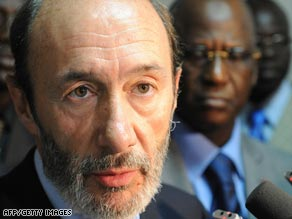 Spanish Interior Minister Alfredo Perez Rubalcaba said the group arrested were ETA's most active cell.